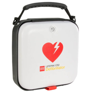 lifepak cr2 aed carrying case