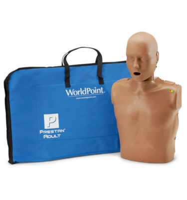 Prestan® Professional Adult Manikin with CPR Monitor - Dark Skin