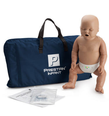 Prestan® Infant Manikin with CPR Monitor - Dark Skin