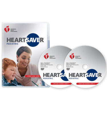 Heartsaver pediatric dvd set