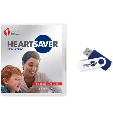 heartsaver pediatric video usb