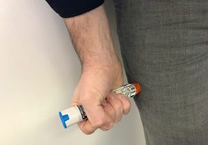 EpiPen hold time is now 3 seconds